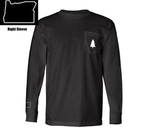 Northwest Tree Long Sleeve Pocket Tee Oregon Edition