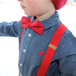 Bow Tie suspender sets