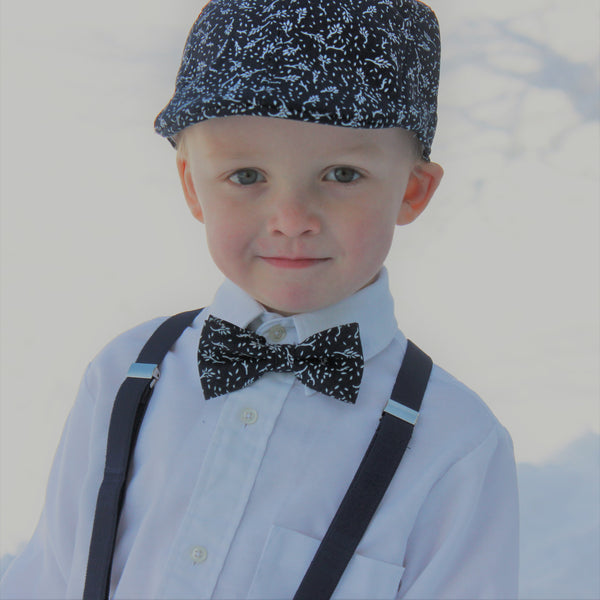 Ivy Hat Suspenders and Bowtie Set