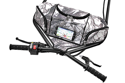 Snow Camo Heated Handlebar Bag