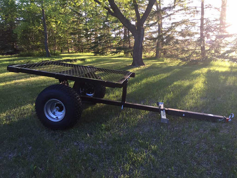 Custom cargo utility trailer for Snowdog