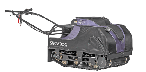 SnowDog Compact 13HP B13ME with Seat and Sled