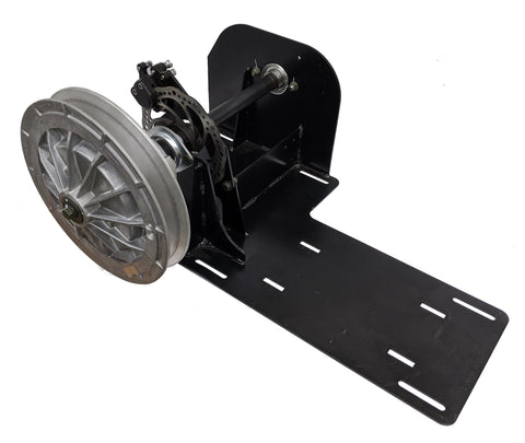 Snowdog Engine Mount with Secondary Drive Pulley