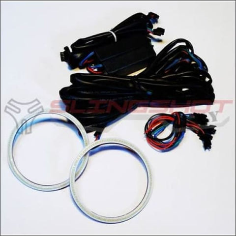100mm Halo Muli-Color LED Rings for the Polaris Slingshot - electronics