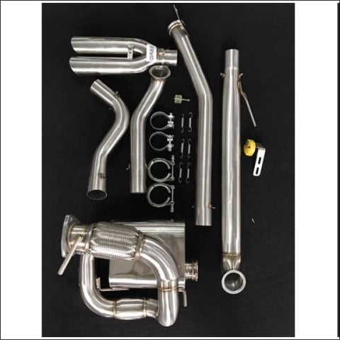 1320 Performance Rear Center Exit Dual Exhaust - engine drivetrain