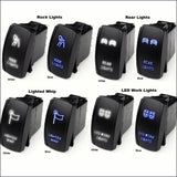 LED Rocker Switch By Race Sport Lighting - RZR L