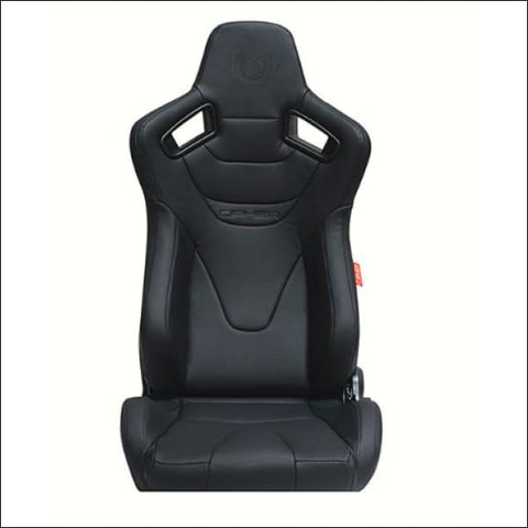 CIPHER AR9-Revo RS RACING SEATS BLACK OR RED STITCHING - PAIR - interior