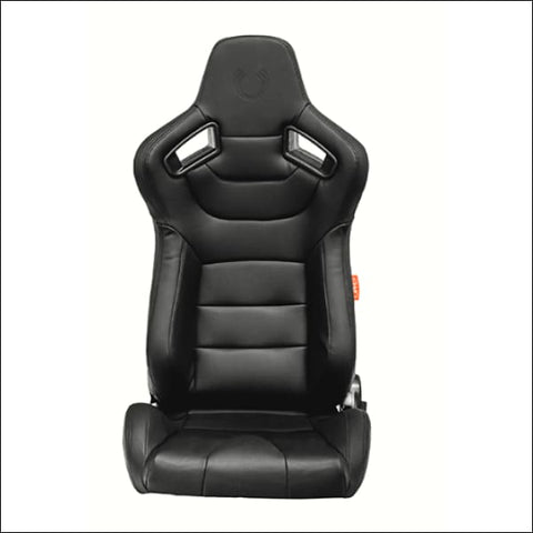 Cipher AR-9 Revo Racing Seats Black OR Gray Stitching - Pair - INTERIOR