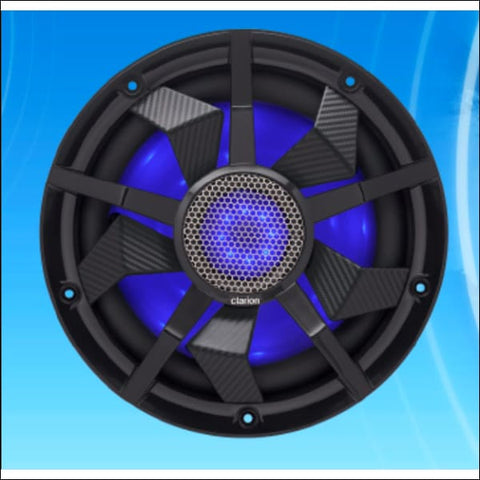 Clarion CM2513WL 10 Subwoofer with RGB LED Lighting - ELECTRONICS