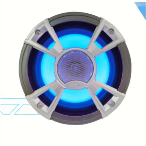 Clarion CMQ1622RL 6.5 Speaker Set with Blue LED - ELECTRONICS