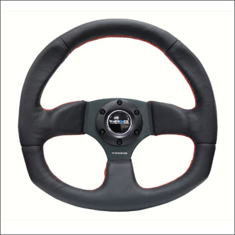 NRG D Shaped Series Flat Bottom Steering Wheels Polaris Slingshot - steering wheel
