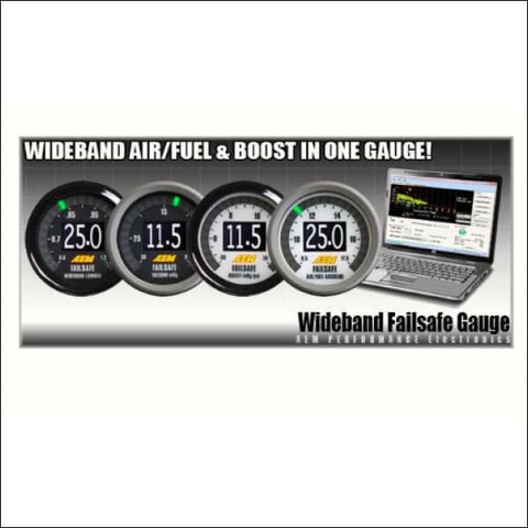 AEM WIDEBAND FAILSAFE GAUGE - engine drivetrain