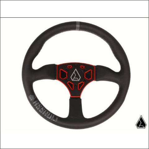 **NEW** Assault Industries 350R Leather Steering Wheel (Universal) - INTERIOR