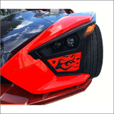 TWIST DYNAMICS GAP FILLERS FOR THE POLARIS SLINGSHOT - exterior