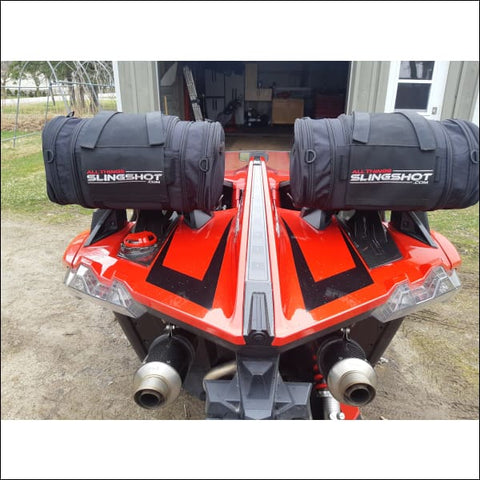 Slingshot Roll Bar Luggage Bags - exterior