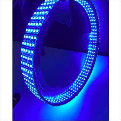 Alluminum Rotor Style U.A.S. Wheel Rings Optional lightstrips - EXT