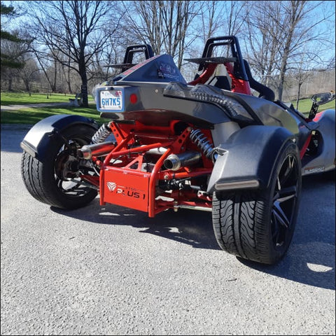 Plus 1 Quad kit Fenders by All Things Slingshot - drivetrain