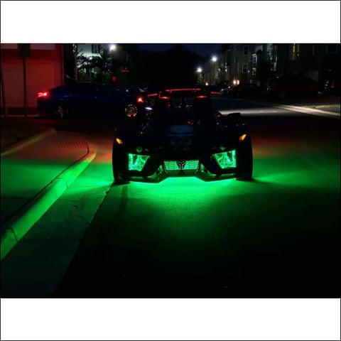 Joker Slingshot Under Glow Lights for the Polaris SLINGSHOT - electronics