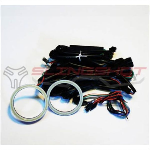 70mm Halo Muli-Color LED Rings for the Polaris Slingshot - electronics