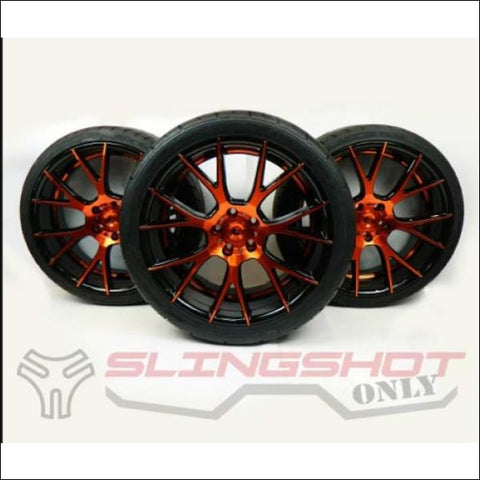 Adventus Aluminum Wheels & Tires for the Polaris Slingshot - exterior