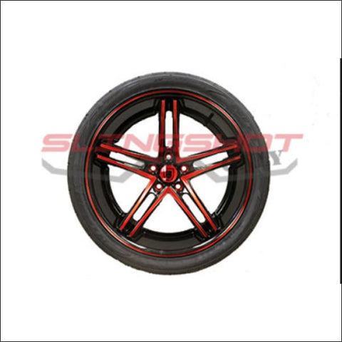Asanti Star Wheel Set with Nitto Tires (305 Rear Tire) - exterior