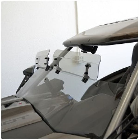 Baker Built Top Windshield Clamp On Wings - exterior
