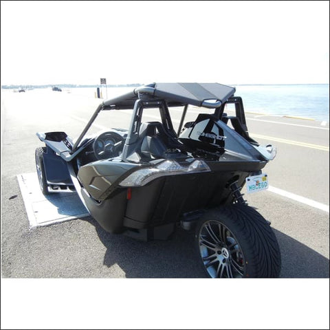 Bullet Speed V-Back Slingshot Roof - exterior