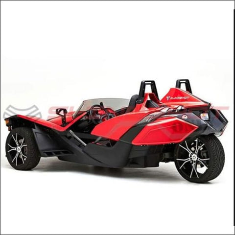 Corbin Fleetliner Saddlebags for the Polaris Slingshot - exterior