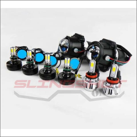 Dual Headlight Kit with LEDs for the Polaris Slingshot - electronics