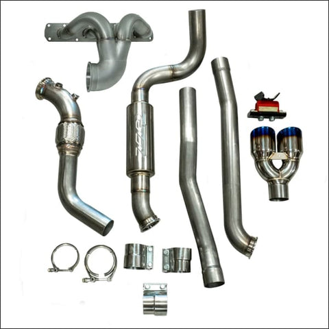 ZZP REAR EXIT N/A EXHAUST PACKAGE 2015-2019 Slingshot - SUSPENSION EXHAUST