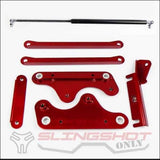 Extended Range Hood Hinge Kit for the Polaris Slingshot - engine drivetrain