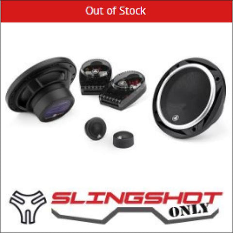 JL Audio 6.5 Component Speaker System for Polaris Slingshot - electronics