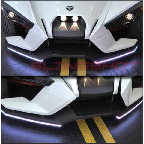 LED Splitter Lights for the Polaris Slingshot - exterior