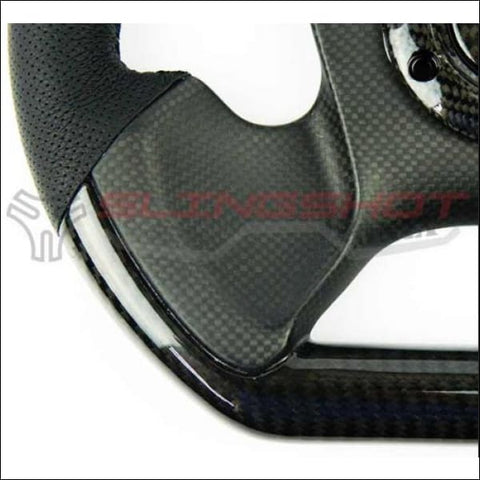 NRG Carbon Fiber Steering Wheel for the Polaris Slingshot - interior