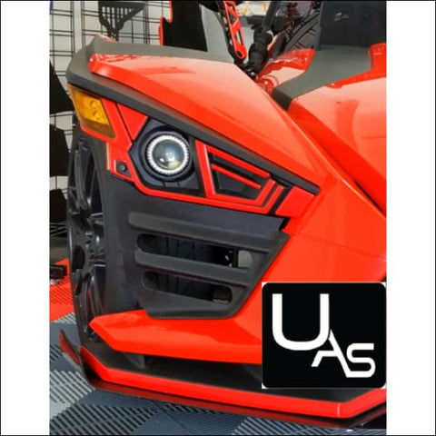 Polaris Slingshot Front End Side Gap Filler Grilles - EXT