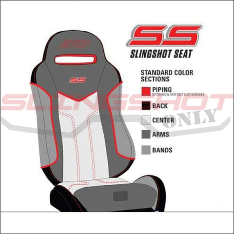 PRP Custom SS Seats for the Polaris Slingshot - int