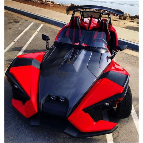 Slingshot Body Kits.com Nascar Styled Windshield - exterior