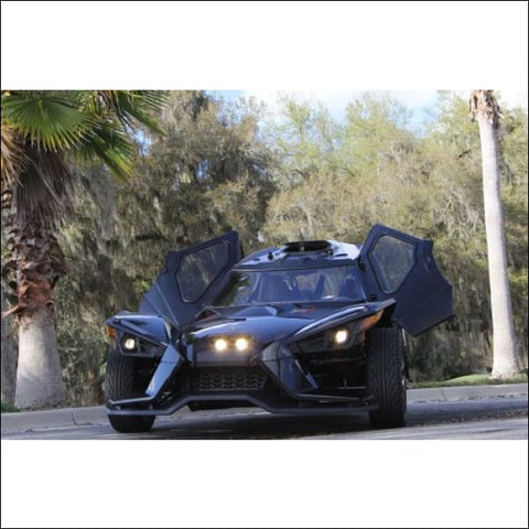 SlingLines Full Enclosure System For The Polaris Slingshot - exterior