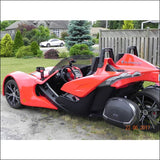 Slingshot Body Kits .com Lower tail cone license plate holder - body styling