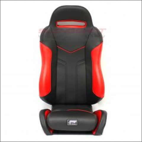 SS Suspension Seat for Polaris Slingshot-Pair RED/BLACK - interior