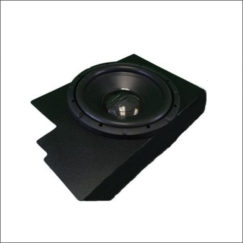 UAS Behind the Seat Subwoofer Enclosure (Ported) - electronics