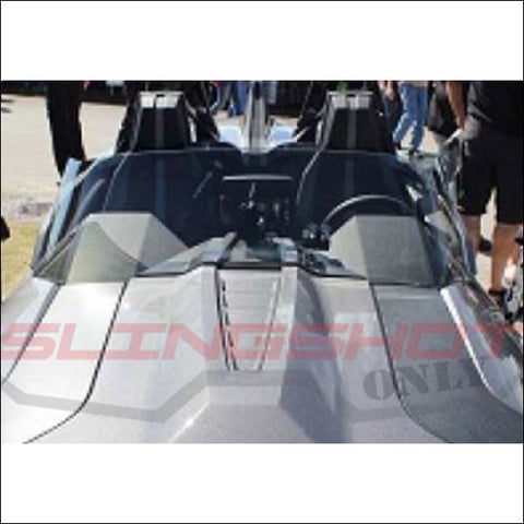 Windshield F4 Plus 3 for the Polaris Slingshot - exterior
