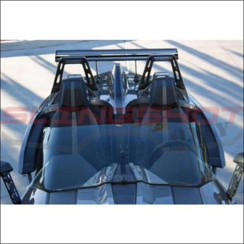 Windshield F4 Plus 5 for the Polaris Slingshot - exterior