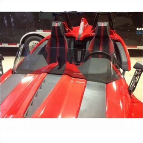 Windshield F4 Stock for the Polaris Slingshot - exterior