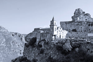 Matera church views