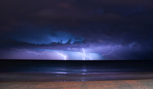 Storm over the Tasman