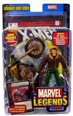 Marvel Legends- Legendary Riders Series- Logan