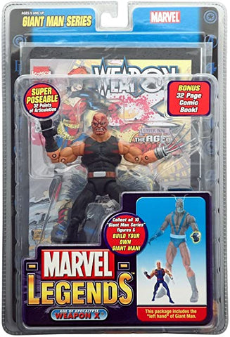Marvel Legends- Giant Man BAF Series- Weapon X