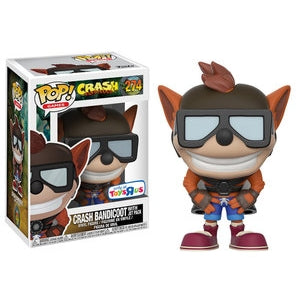Pop! Games: Crash Bandicoot- Crash w/ Jetpack (TRU Excl)