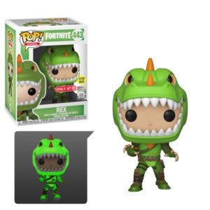 Pop! Games: Fortnite- Rex (GITD) (Target Excl)